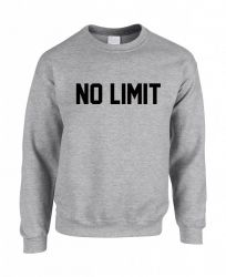 No Limit Men's Sweater | Grey