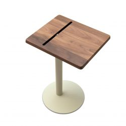 Nomad Wood Tablet Side Table