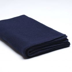 Gebreid Deken Stocking | Marineblauw