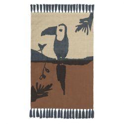 Rug Toucan | Brown