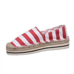 Noos Icon Espadrilles | Indy Red