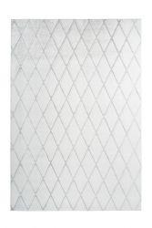 Teppich Nora 433 | Weiß - Graublau