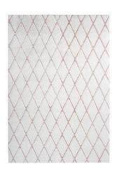 Teppich Nora 433 | Weiß - Rosé