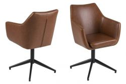 Set of 2 Chairs Jones | Brown
