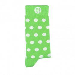 Unisex-Socken | Grüne Punkte