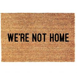 Deurmat | We're Not Home