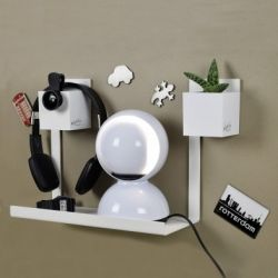 Magnetic Shelf THENOTE | White