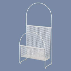 Magazine Holder Nouvelle | White