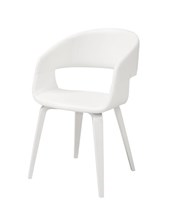 Chair Novo 60 White | Birch Legs