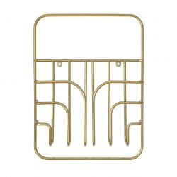 Magazine Rack Now S | Brass