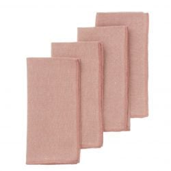 Set de 4 Serviettes de Table 45 cm | Mirra Ros