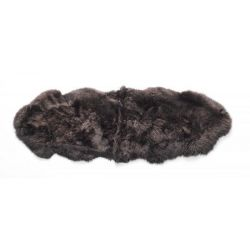 New Zealand Sheepskin Double Rug | Chocolate