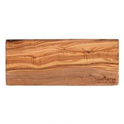 Rechteckige Platte Olivenholz 30 cm | Braun