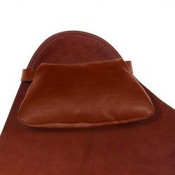 Lederkissen für Stuhl Butterfly Leder | Eiche