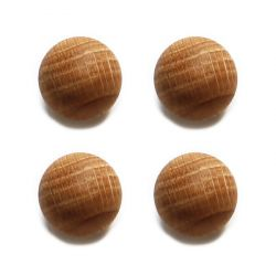 Oak Balls | Set of 4