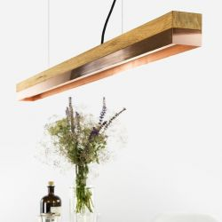 Pendant Lamp [C1o] Oak + Copper