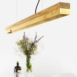 Pendant Lamp [C1o] Oak + Pine Wood - DISCONTINUED