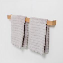 Towel Rail Slimline 72 cm | Light Wood