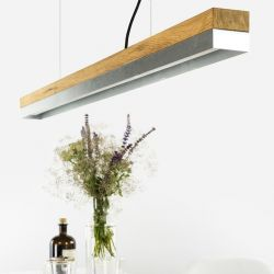 Pendant Lamp [C1o] Oak + Zinc - DISCONTINUED