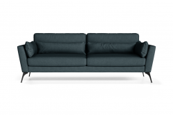3 Seater Sofa Susan | Blue Petrol