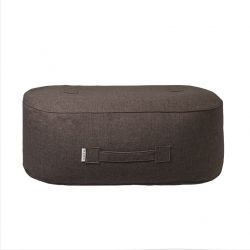 Pouf Oblong | Wool | Brown
