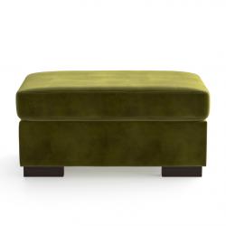 Samthocker Bree | Olivgrün