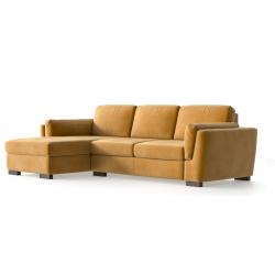 Left Corner Sofa Bree | Mustard