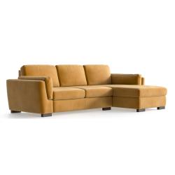Right Corner Sofa Bree | Mustard