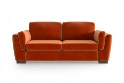 2-Sitzer-Sofa Bree | Orange