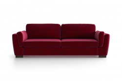 3-Sitzer-Sofa Bree | Rot