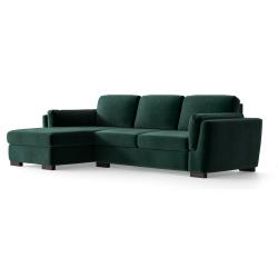Left Corner Sofa Bree | Dark Green