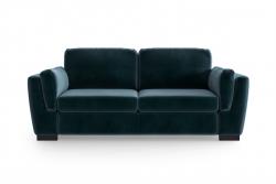 2-Sitzer-Sofa Bree | Petrolblau