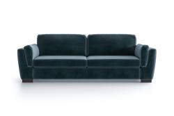 3-Sitzer-Sofa Bree | Petrolblau