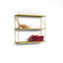 Wandplank Tria Pack | Okergeel