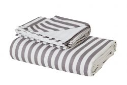 Duvet Cover Odensee | White & Grey