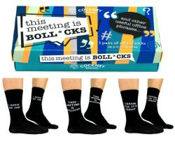 Socks Office Phrases | Set of 6