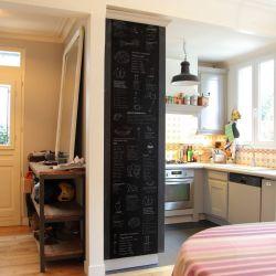 Tapete Küchenbedarf Tafel