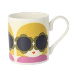 Mug Lola | Yellow/Purple