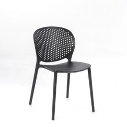 Polypropylene Chair OM/261/GS | Dark Grey