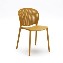 Chaise en polypropylène OM/261/SE | Jaune
