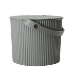 Storage Bucket Omnioutil | Grey