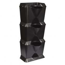 Minigarden ONE Plant Pots | Black