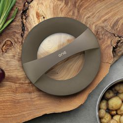 Universal Multifunctional Lid OneLid Glass | Dark Grey