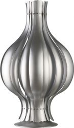 Onion Table Lamp Silver