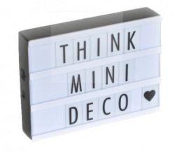 Mini Led Lichtbox 10 x 15 cm | Wit
