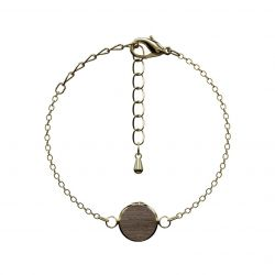 Bracelet Optativ | Dark Wood & Gold