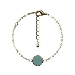 Bracelet Optativ | Dusty Jade & Gold