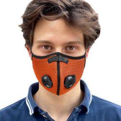 Gesichtsmaske Breezy   Orange