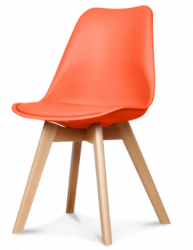 Chaise Scandi | Orange