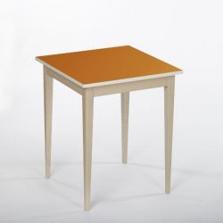 Bennie Table d'Appoint | Orange